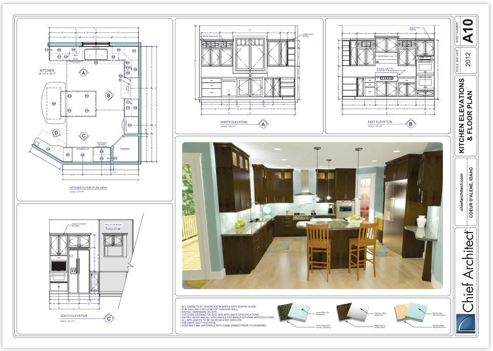 A Set Of Construction Documents Interior Architecture Design