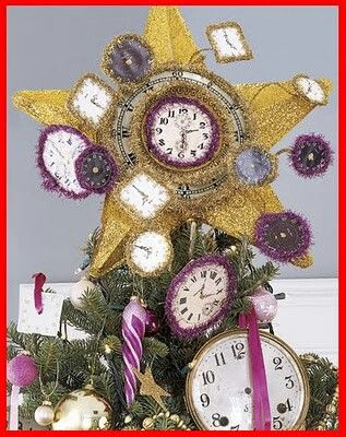 Christmas tree topper Christmas Trees and Toppers Pinterest