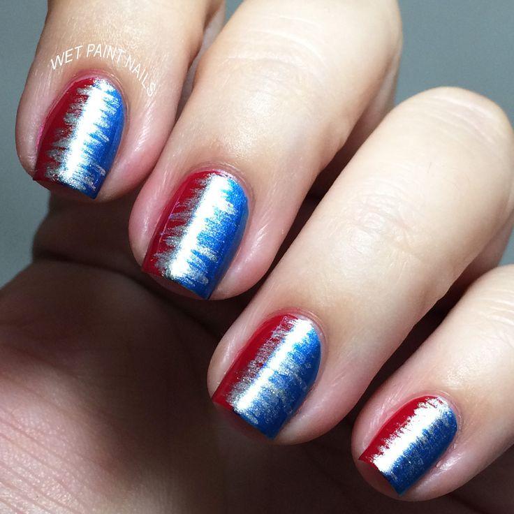 Fan Brush Nail Art | Nail Brushes | Pinterest | Fan brush nails and ...