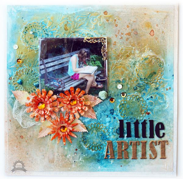 Couture Creations: Little Artist by Sue Smyth