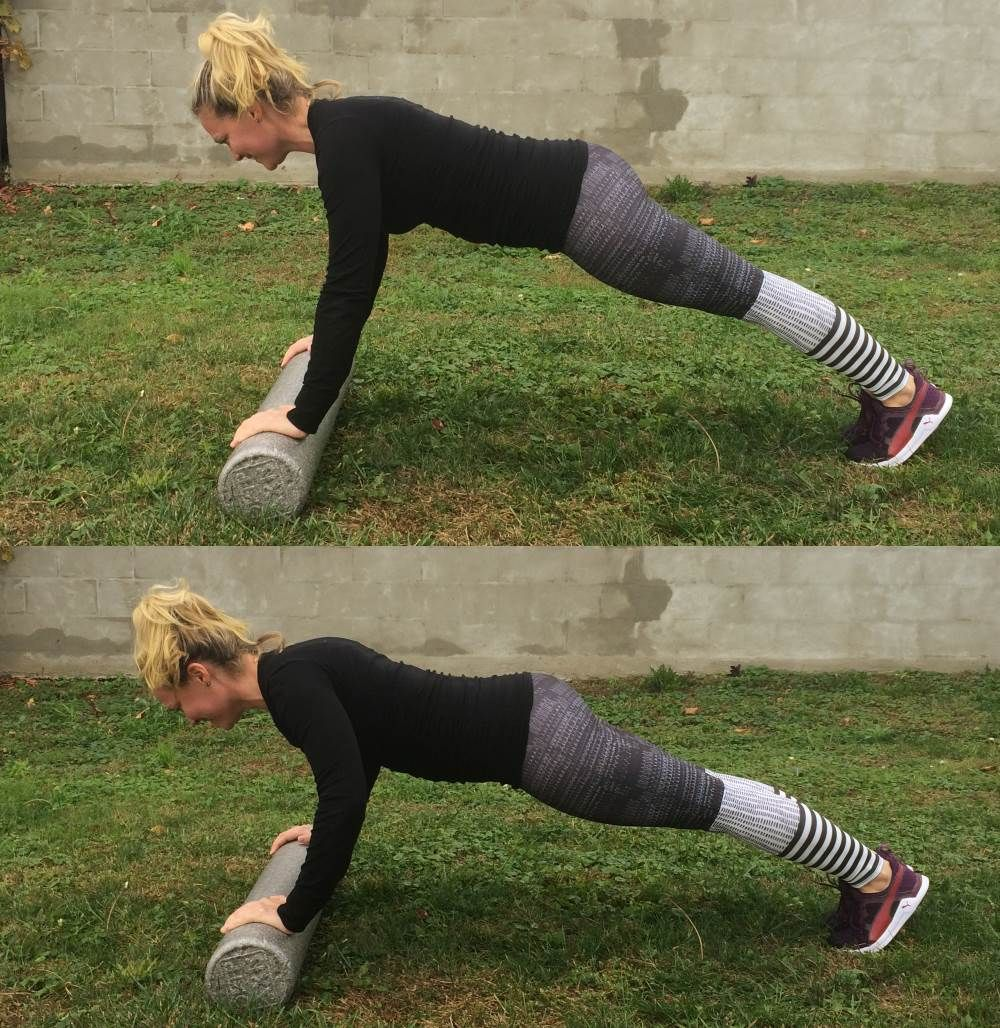 4 Ways To Firm Your Arms With A Foam Roller pictures