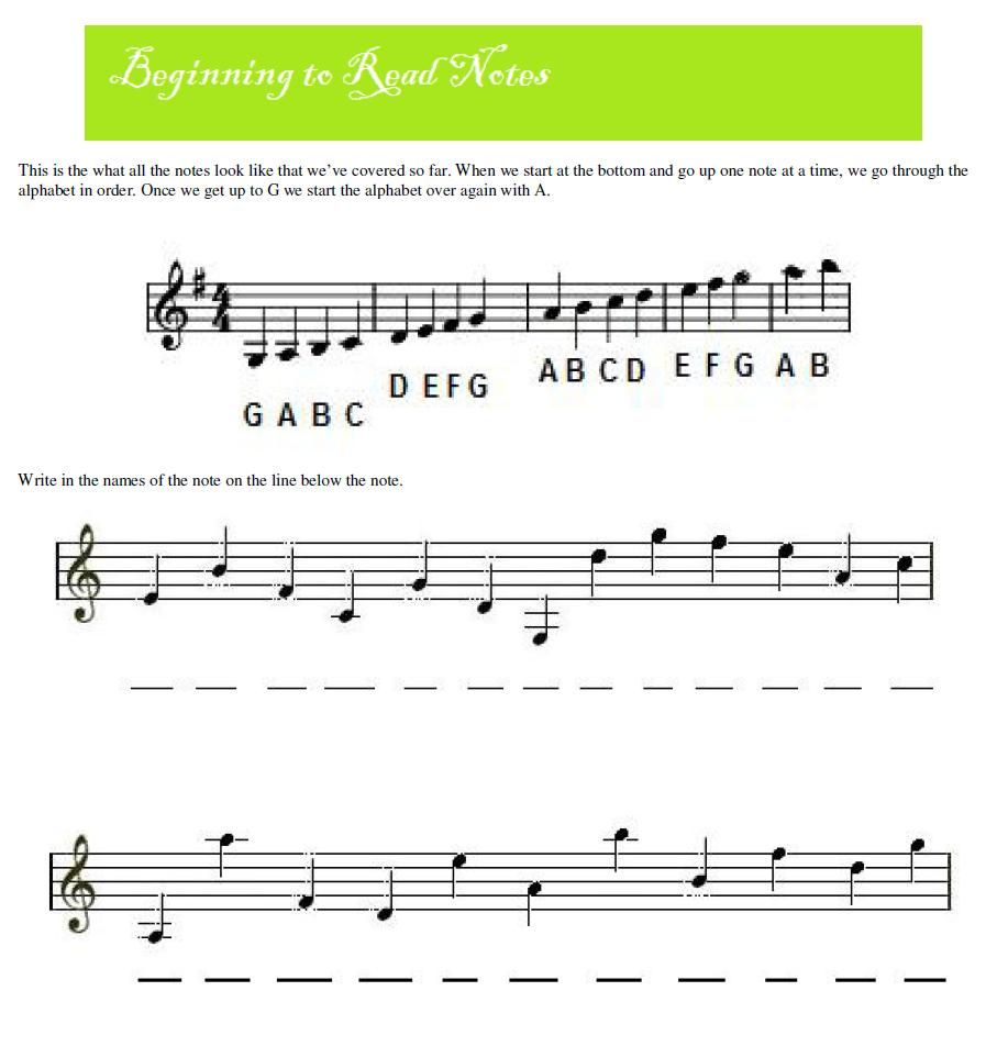 Worksheets Music Fundamentals Worksheets violin mrs pearls music resources i love teaching emma resources