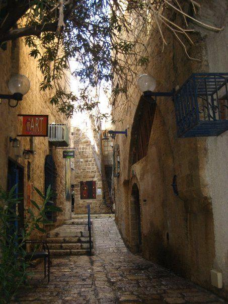 #Oldjaffa  Israel.. Walked a street just like this in Israel.. Fascinating!!!