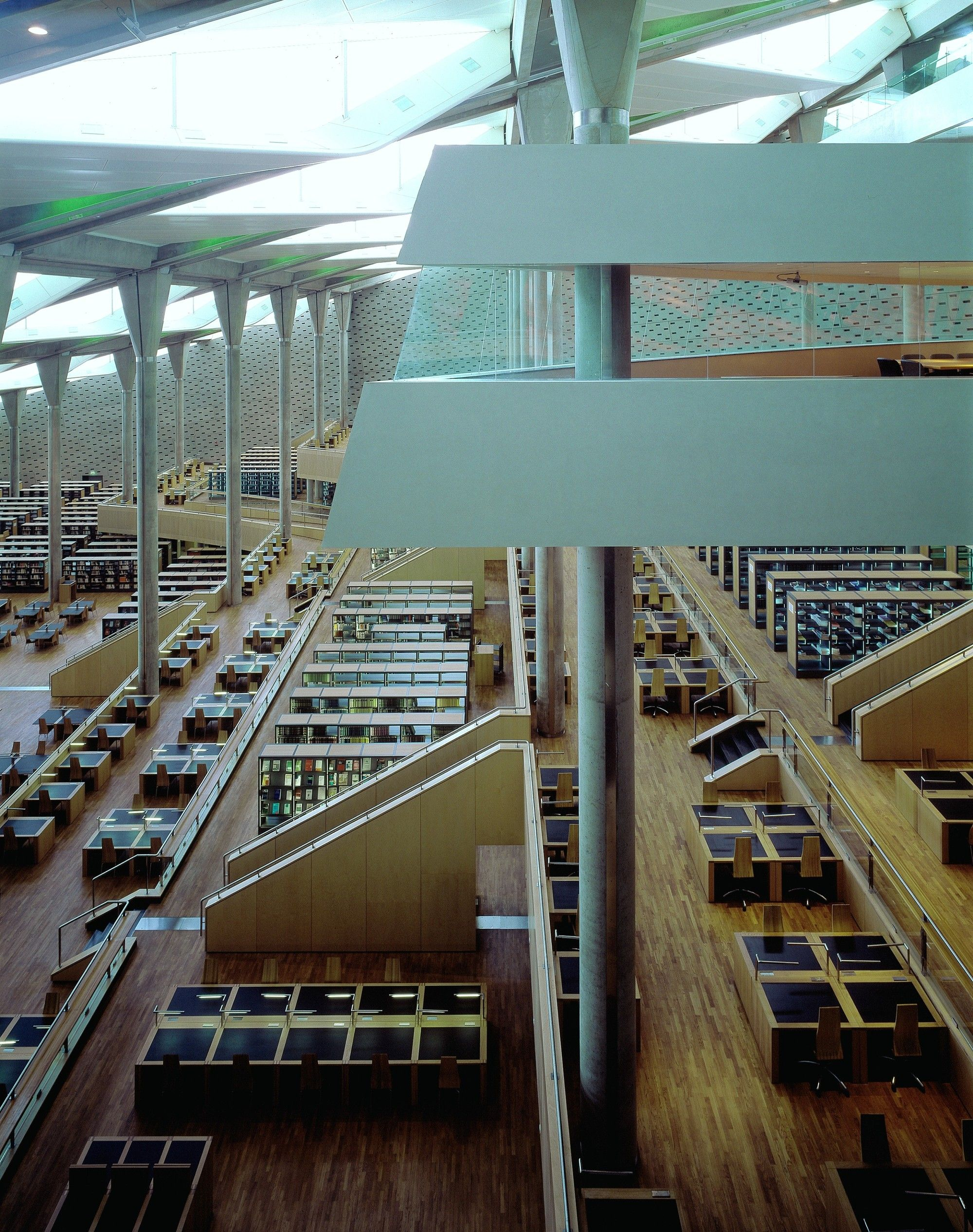 Gallery of ad classics bibliotheca alexandrina sn hetta for Docentes exterior 2015