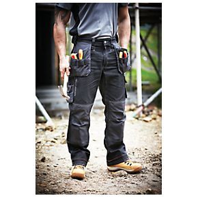 Helly Hansen Chelsea Construction Trousers Black/Charcoal 34