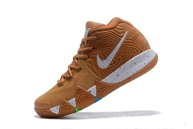Nike Kyrie 4 Cinnamon Toast Crunch Men's Basketball Shoes BV0426-900 #cinnamontoastcrunch