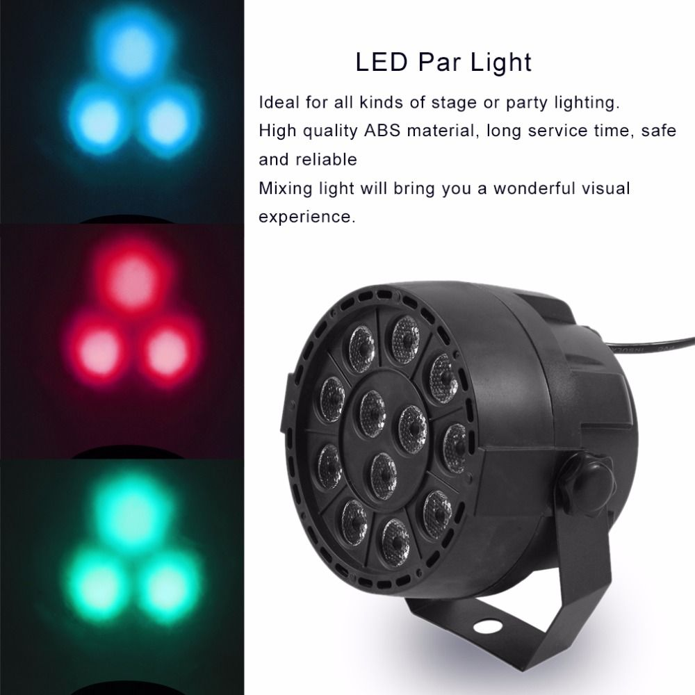 12 Led Bar Light Mini Phono Disco Stage Effect Lighting Projector Club Party Ktv Show Flat Dj Equipments Contro With Images Commercial Lighting Bar Lighting Led Light Bars