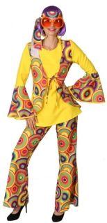 Summertime Anzug Damen Hippie 60er Jahre Karneval
