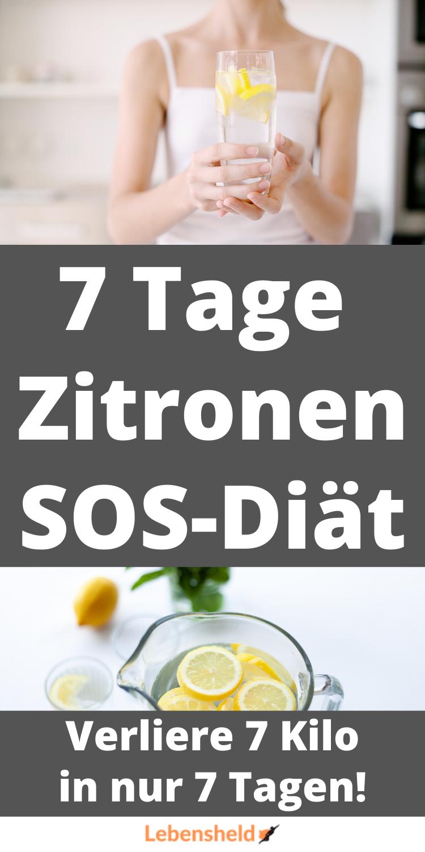 Zitronendiät 7 Kilo 5 Tage