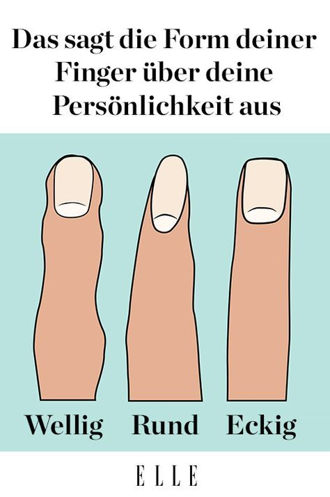 Fingerform Das Sagt Sie Uber Deine Personlichkeit Aus