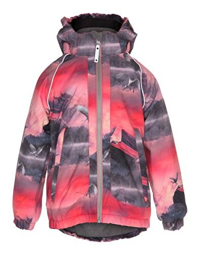 1a7a820e94f7 Molo Girls Cathy Jacket - Pink Mountains
