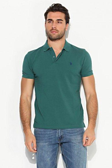 U S Polo Assn Erkek T Shirt Yesil 4630746 Limango Com Tr Alisverisin Zevki O Polo