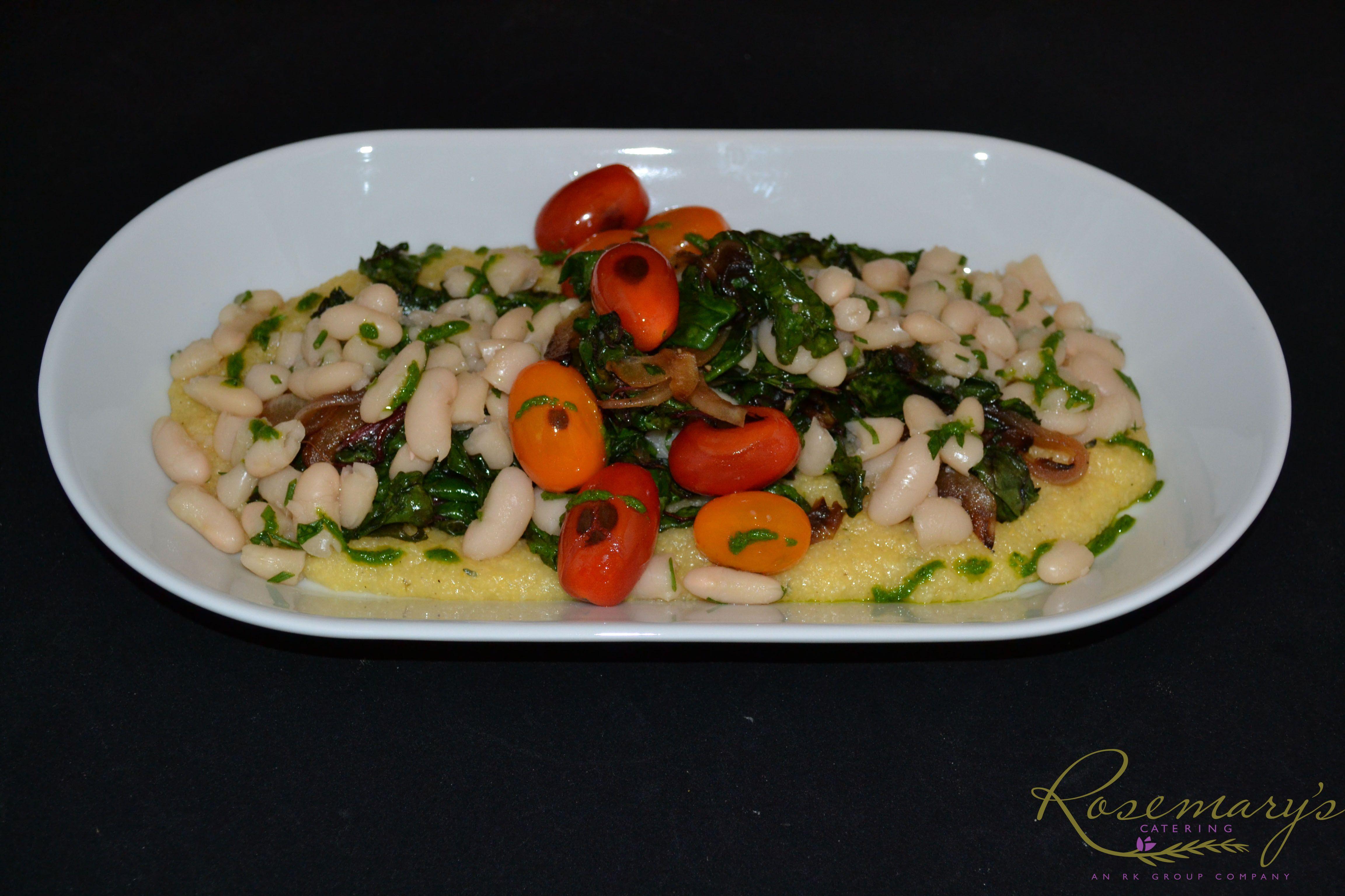 Location austin i entree vegetarian polenta with