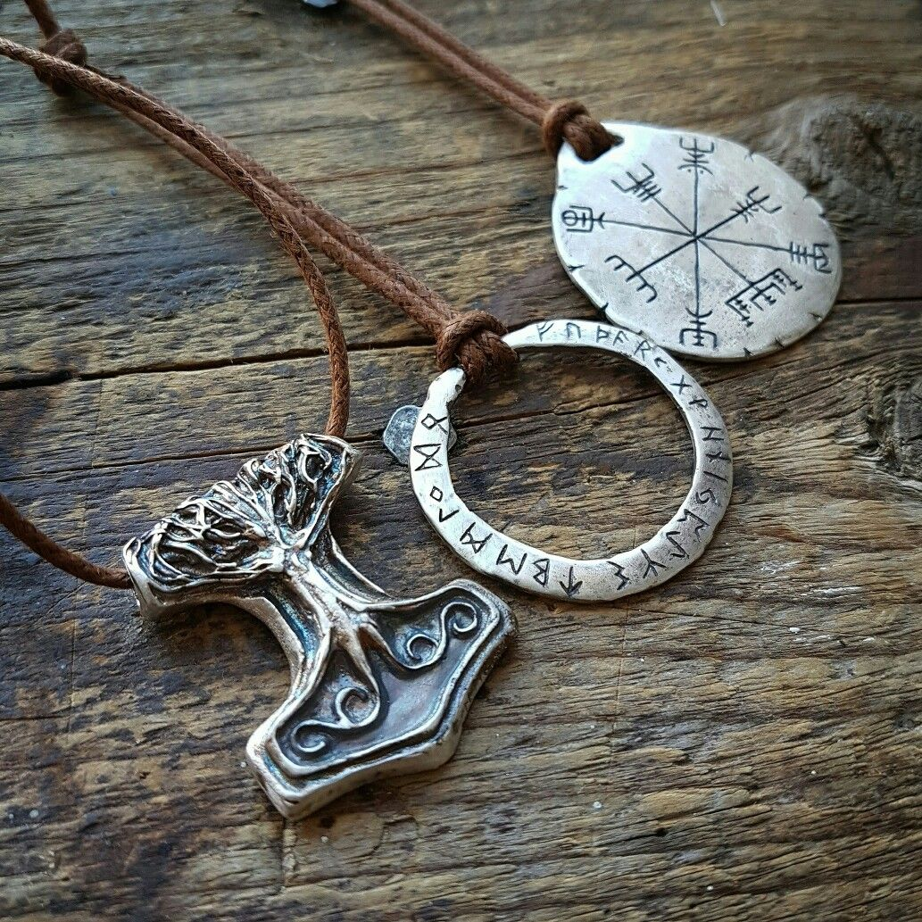 Silver mjolnir decorated with the world tree yggdrasil elder silver mjolnir decorated with the world tree yggdrasil elder futhark rune pendant vegvisir amulet aloadofball Images