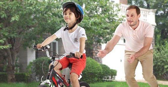 Hướng dẫn dạy bé tập đi xe đạp trẻ em 2 bánh