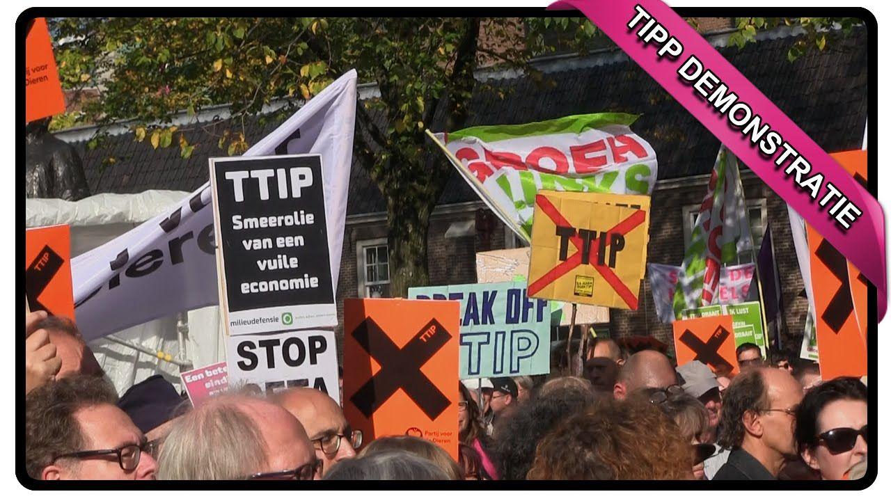 TTIP DEMONSTRATIE AMSTERDAM 10 OKTOBER 2015 | Gezondheidsgoeroe
