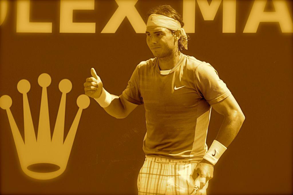 Rafael Nadal in  Monte-Carlo Rolex Masters