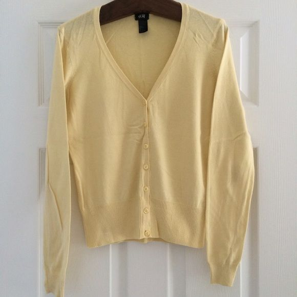 Pale Yellow Cardigan | Yellow cardigan, Customer support and Delivery
