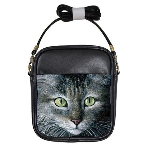 Photorealistic Black Cat Purse | Crazy Cat Lady Clothing