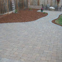 Pin By Scott Shirley On Driveway Design Paver Stones Hardscape