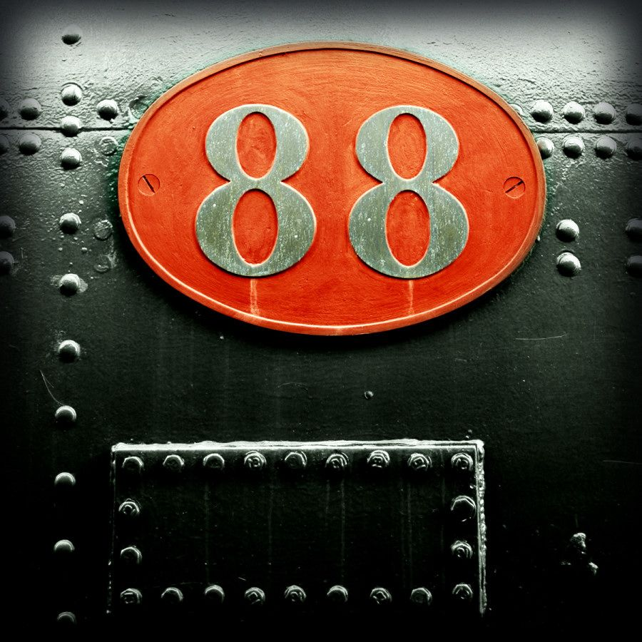the number 88 by ~grafitomane on deviantART