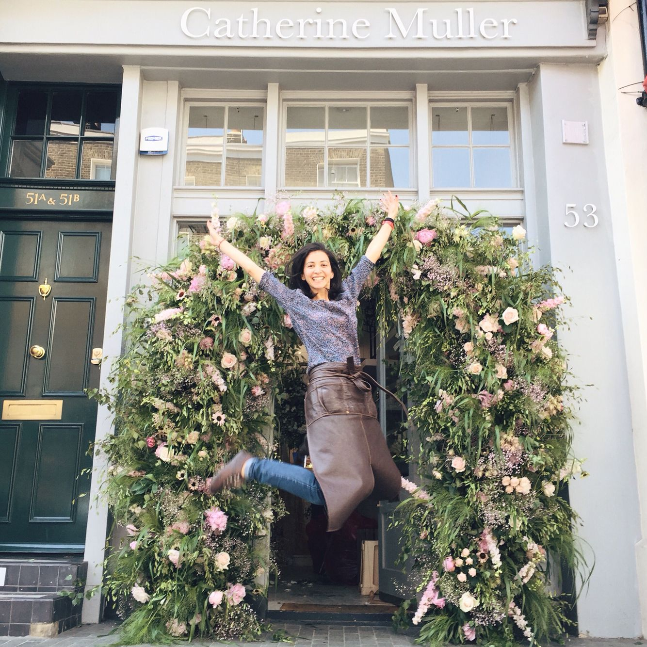 Wedding Flower Arch. Catherine Muller Flower School In