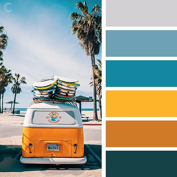 47 Farben Wände Ideen Farbpaletten: Color Palettes #colors #colorscheme #summer In 2019