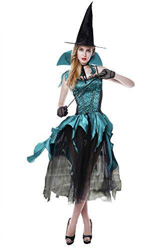 1d1cbd8581085b Damen Hexe Kostüm ca 39€ Kostüm-Idee zu Karneval, Halloween & Fasching