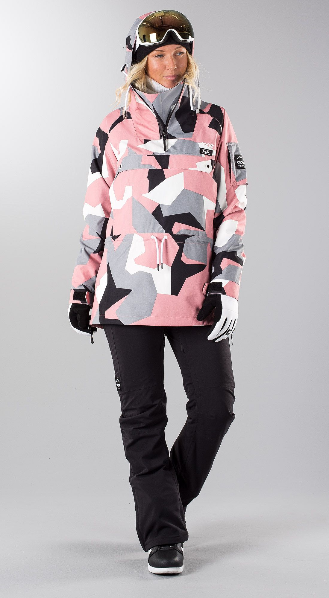 e671475a659a Dope Annok W Snowboard Jacket Pink Camo | Snow ❄ | Snowboarding ...