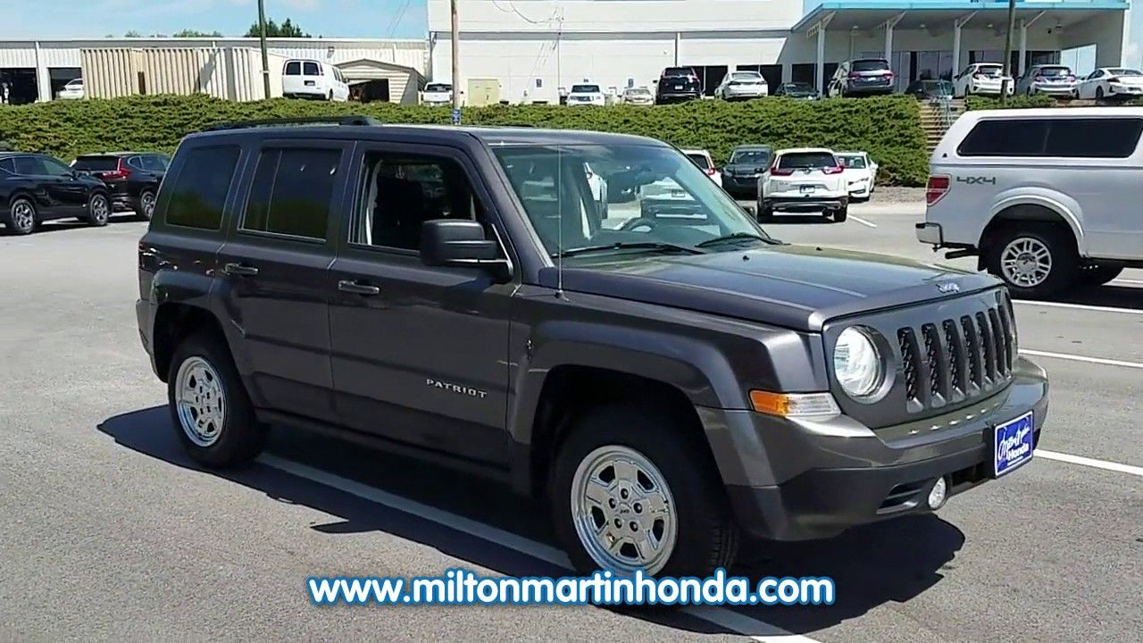 USED 2015 JEEP PATRIOT 4WD 4DR SPORT at Milton Martin