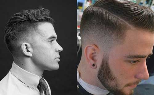 15 Mens Tapered Haircuts Men Hairstyles Beards Pinterest