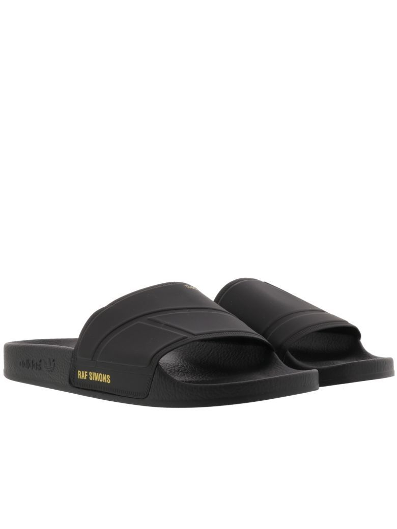 a2a6d33e7 Best price on the market at italist.com Adidas By Raf Simons Black SANDALS.