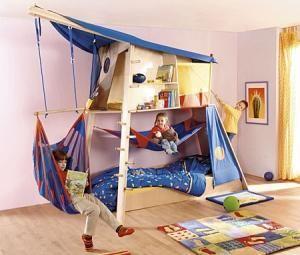 Kinderbett spielhaus  Haba Rabeneck mit Kinderbett | MyMo | Pinterest | Kinderbetten ...