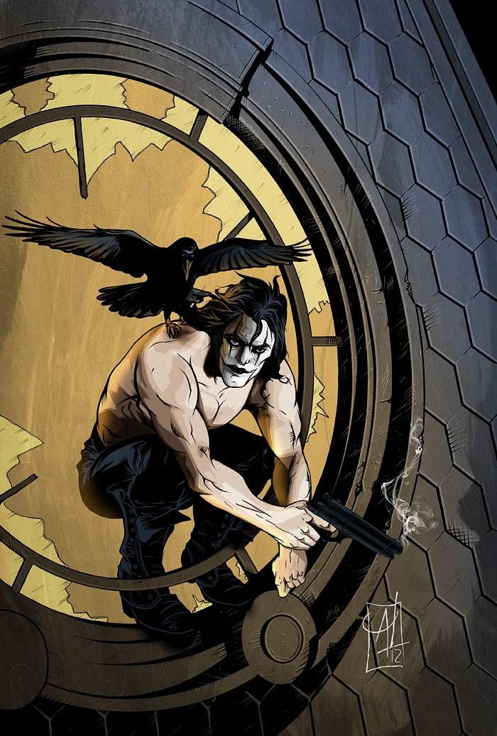 My new art: The Crow