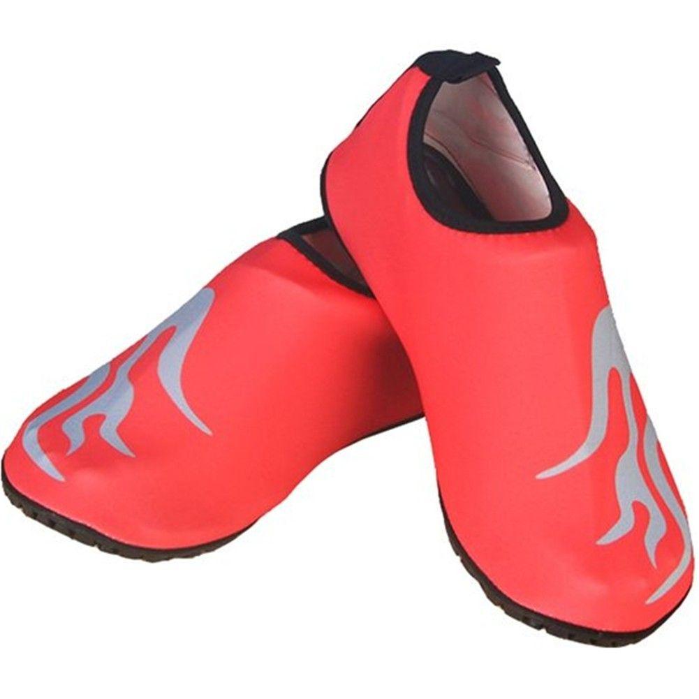 8c4e17b426f9d Advogue Unisex Barefoot Water Skin Shoes for Beach Swim Surf Yoga Exercise Aqua  Shoes