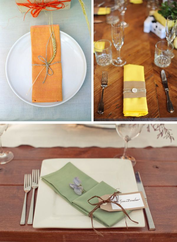 Beautiful Napkin Decorations At Weddings Ideas Inspiration