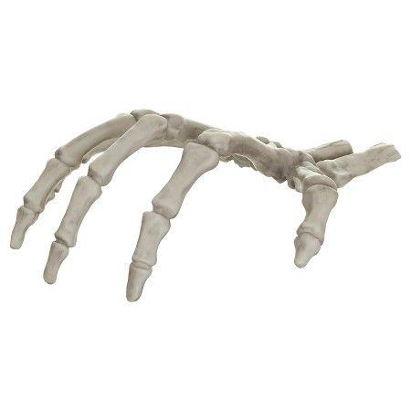 Halloween Skeleton Hand  Target fall Pinterest