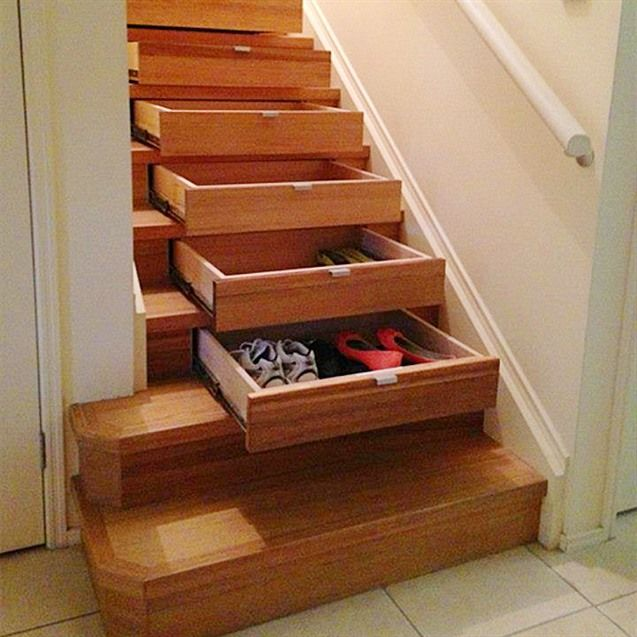 26 Incredible Under The Stairs Utilization Ideas: 22 Captivating Stairs Storage Ideas : Phenomenal Stairs