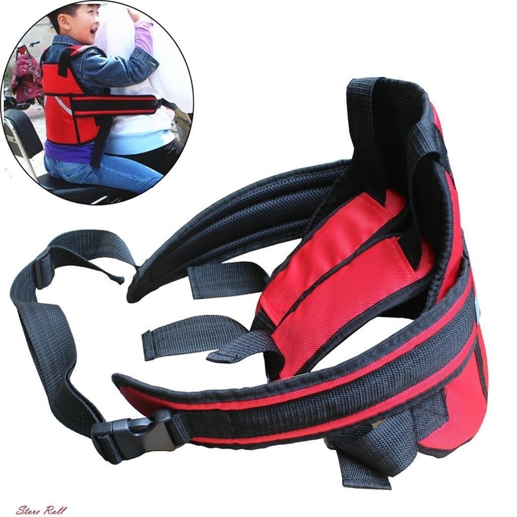 Motorcycle Seat Belt Safety Child Kids Protective Security