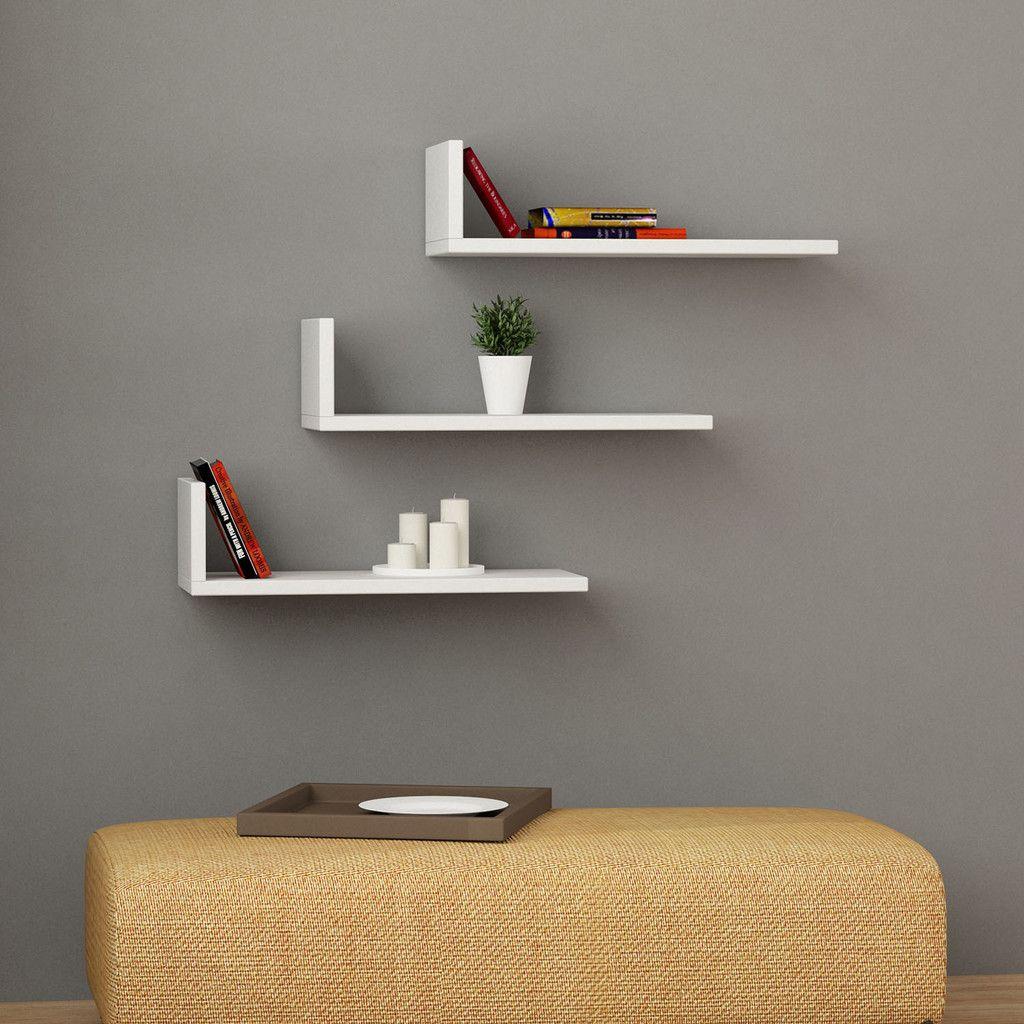 L model shelves arte tipo viejo repisa ba o muebles - Repisa bano ikea ...