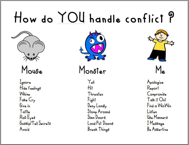 How do you handle conflict? Great way to change it to a