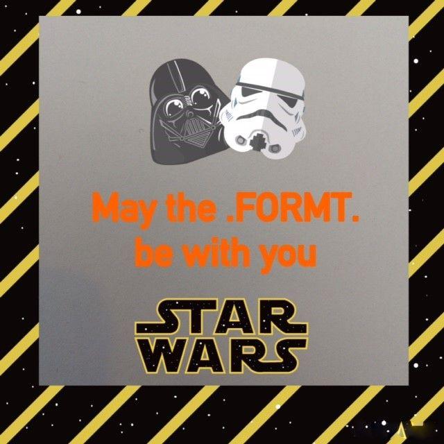 Star Wars van FORMT
