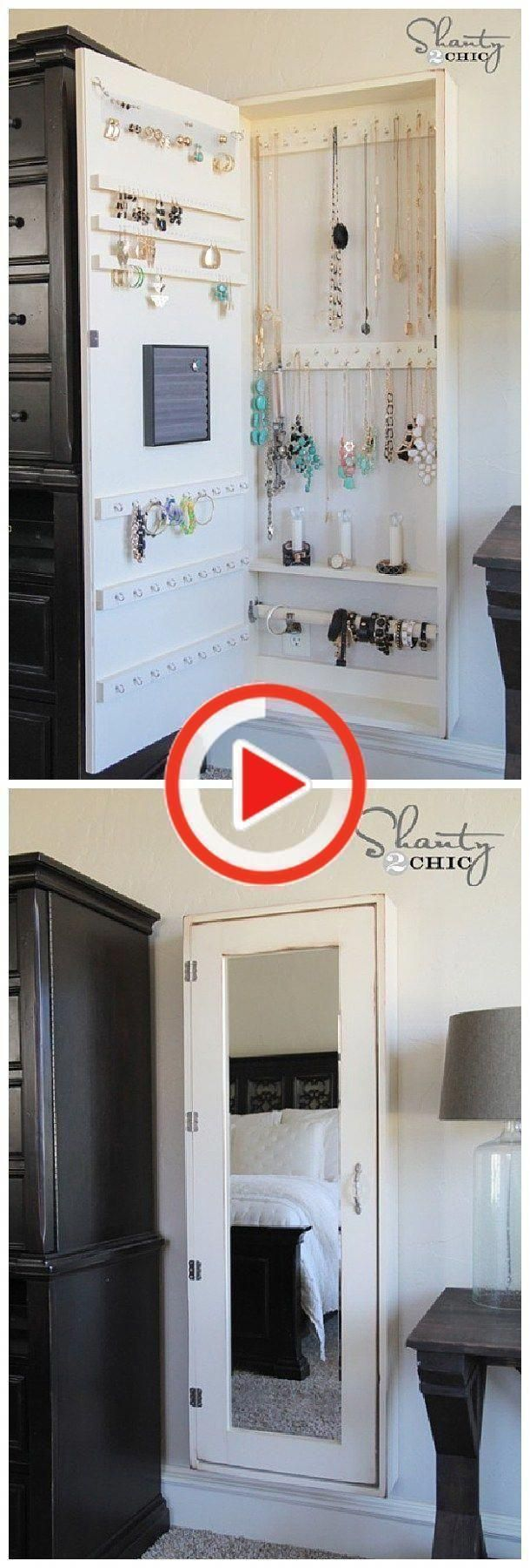 Photo of DIY Bathroom Organization Ideas – DIY Jewelry Cabinet Organizers and Whole … -…