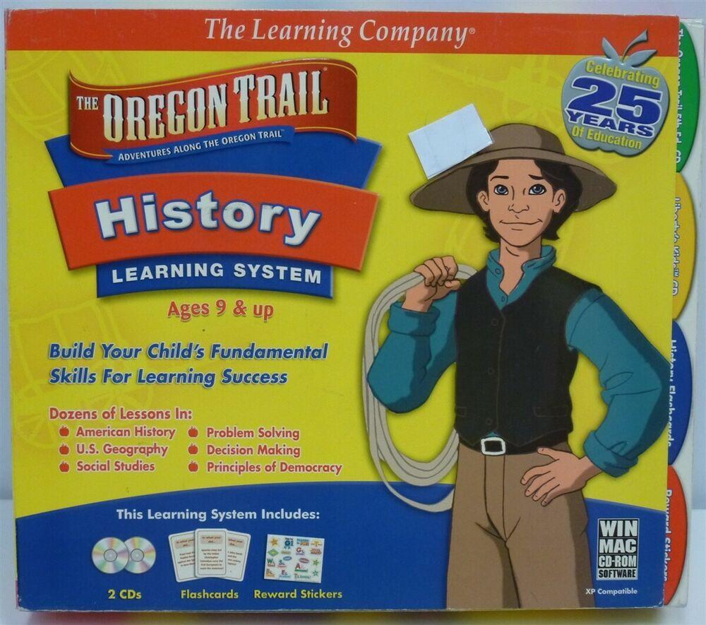 Ebay Sponsored Video Game Pc The Oregon Trail History