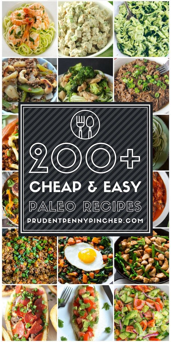 Photo of 200 Cheap & Easy Paleo Recipes