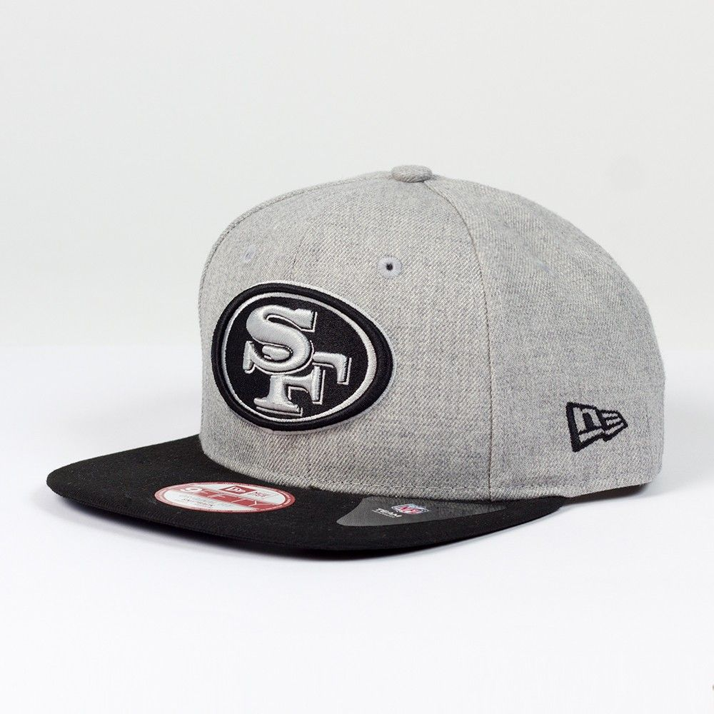 more photos 100% high quality new collection Casquette New Era 9FIFTY snapback Heather NFL San Francisco 49ers ...
