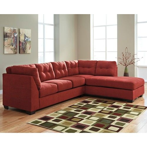 Ashley/Benchcraft Maier - Sienna 2-Piece Sectional w/ Sleeper Sofa ...