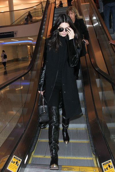 Kendall Jenner is Seen at LAX