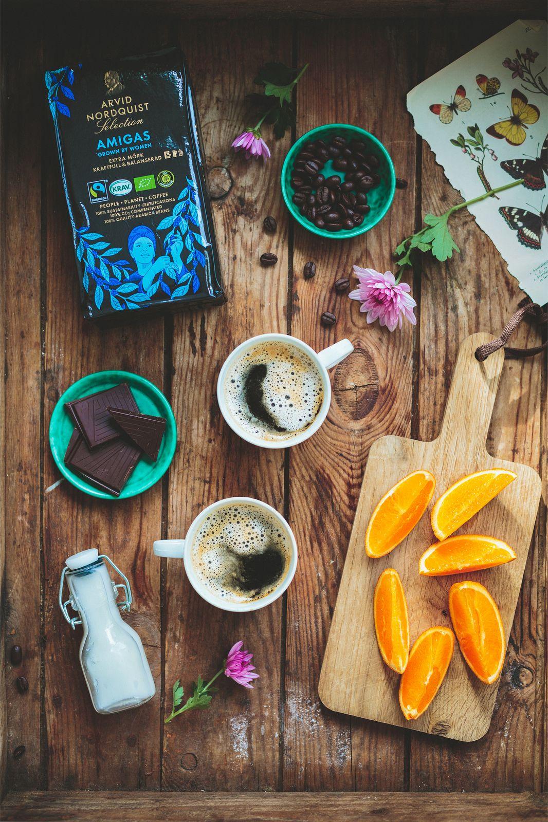 AMIGAS - Nytt kaffe från Arvid Nordquist - Evelinas Ekologiska