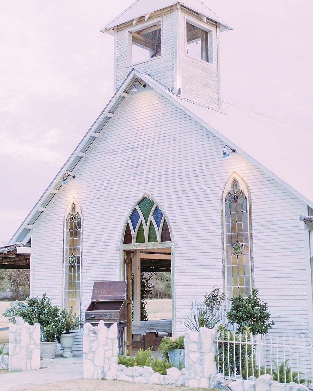 Hill Country Historic Wedding Chapel In Gruene Texas